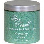 spa pearls serenity peonies